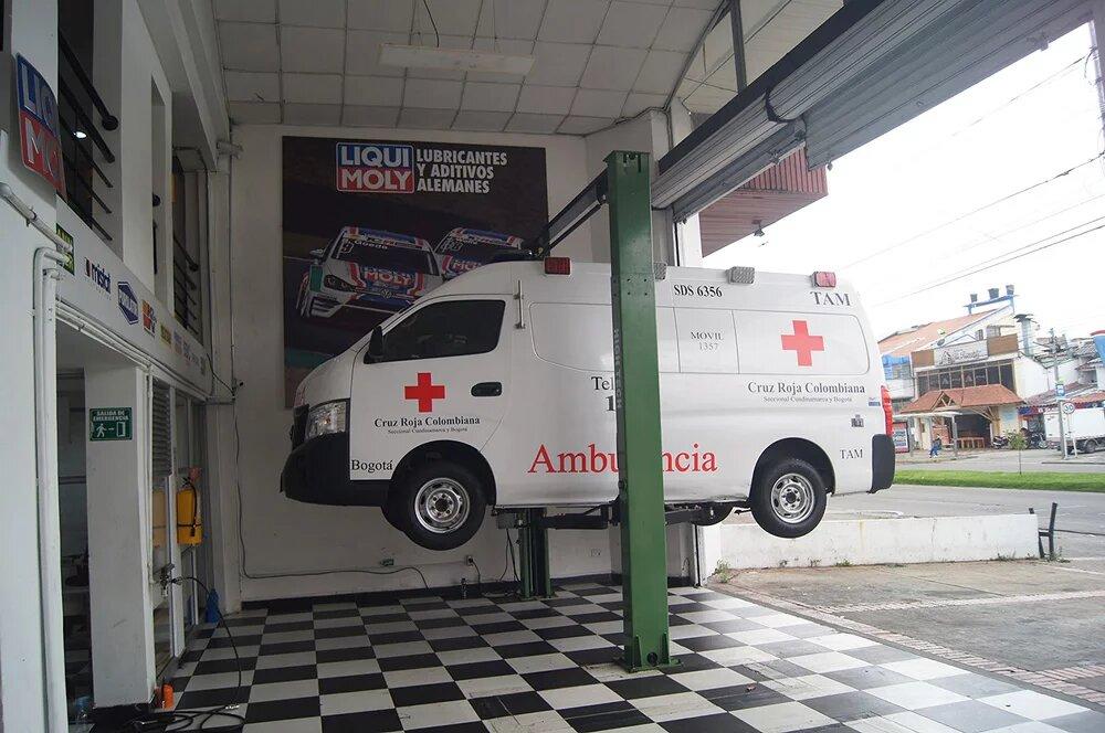 LIQUI-MOLY dona cambio de aceite a los vehículos de la salud