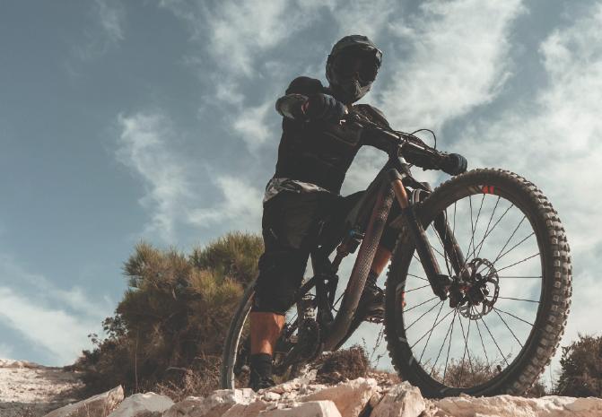 Consentimos tu mejor compañera, tu bicicleta.